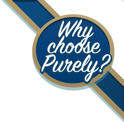 Why choose Purely.Domains